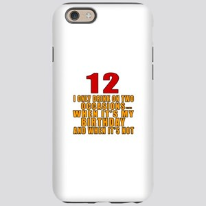 12 birthday Designs iPhone 6 Tough Case