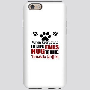 Hug The Brussels Griffon iPhone 6/6s Tough Case