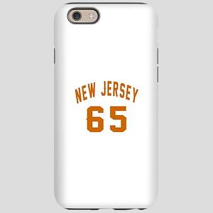 New Jersey 65 Birthday Desi iPhone 6/6s Tough Case