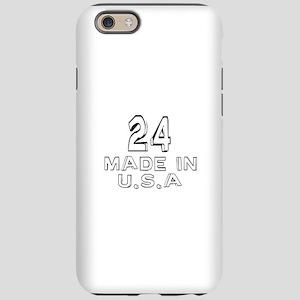 24 Made In U.S.A iPhone 6/6s Tough Case