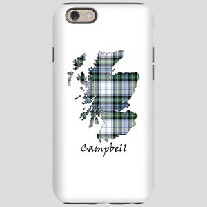 Map-Campbell dress iPhone 6/6s Tough Case