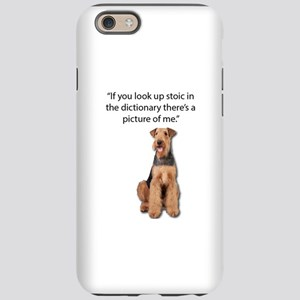 Stoic Airedales Epitome of the iPhone 6 Tough Case