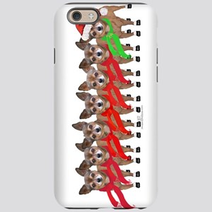 Christmas Chihuahuas iPhone 6/6s Tough Case