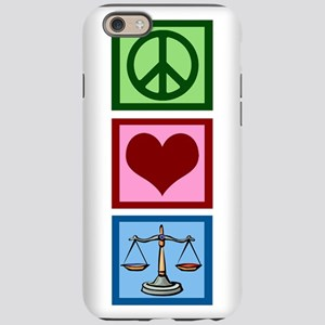 Peace Love Law iPhone 6 Tough Case