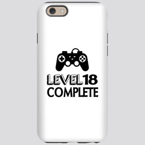 Level 18 Complete Birthday iPhone 6/6s Tough Case