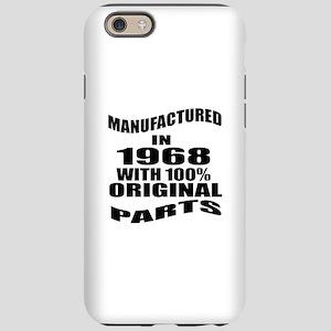 Manufactured In 1968 iPhone 6/6s Tough Case