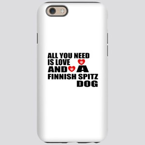 All You Need Is Love Finnis iPhone 6/6s Tough Case
