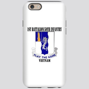 1ST BATTALION 50TH INFANTRY iPhone 6/6s Tough Case