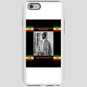 Haile-Selassie-Jah_Rastafari iPhone 6 Tough Case