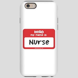 Nurse Name Tag Iphone 6 Tough Case