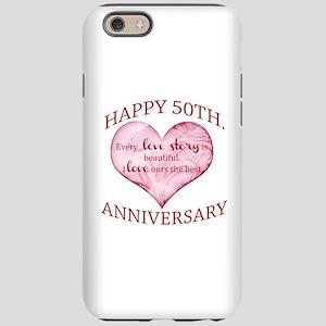 50th. Anniversary iPhone 6 Tough Case