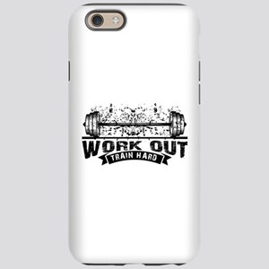 Work Out Train Hard iPhone 6/6s Tough Case