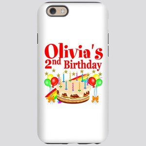 2ND BIRTHDAY iPhone 6 Tough Case