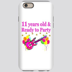 11TH BIRTHDAY iPhone 6 Tough Case