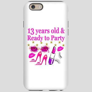 13TH BIRTHDAY iPhone 6 Tough Case