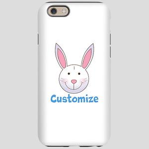 Custom Easter Bunny iPhone 6/6s Tough Case