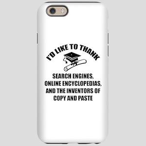 Graduation iPhone 6/6s Tough Case
