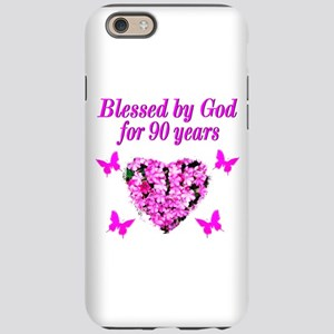 CHRISTIAN 90 YR OLD iPhone 6 Tough Case