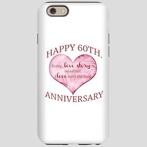 60th. Anniversary iPhone 6 Tough Case