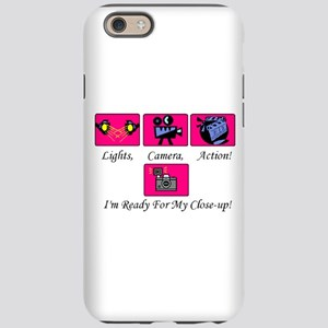 Lights, Camera Action iPhone 6 Tough Case