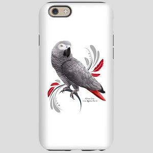 African Grey Parrot iPhone 6/6s Tough Case
