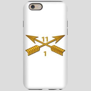 1st Bn 11th SFG Branch wo T iPhone 6/6s Tough Case