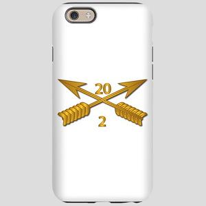 2nd Bn 20th SFG Branch wo T iPhone 6/6s Tough Case
