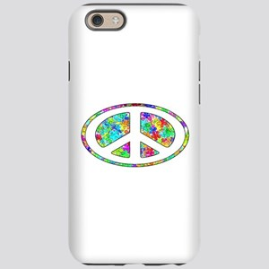Peace Symbol Groovy iPhone 6/6s Tough Case