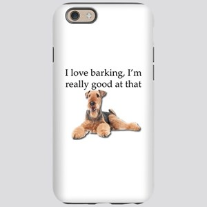 Airedale Terrier is Really goo iPhone 6 Tough Case