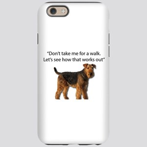 Airedale Terrier Getting Ready iPhone 6 Tough Case