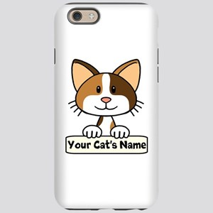 Personalized Calico Cat iPhone 6/6s Tough Case