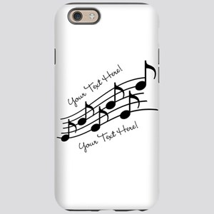 Music Notes PERSONALIZED iPhone 6 Tough Case