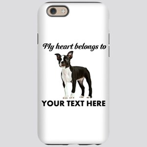 Personalized Boston Terrier iPhone 6 Tough Case