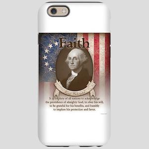 George Washington - Faith iPhone 6 Tough Case