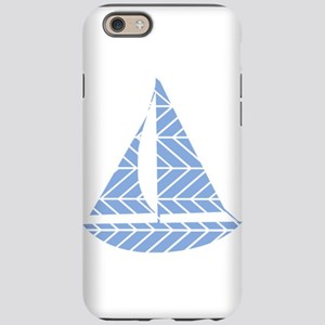 Chevron Sailboat iPhone 6 Tough Case