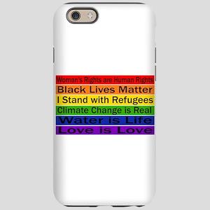 Political Protest iPhone 6/6s Tough Case