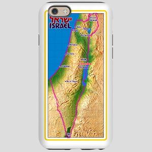 Israel Map Palestine Landscape iPhone 6 Tough Case