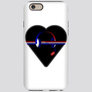 911 Dispatcher (Heart) iPhone 6 Tough Case