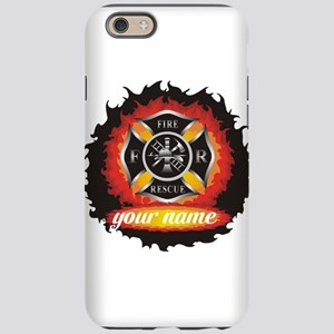 Personalized Fire and Rescue iPhone 6 Tough Case
