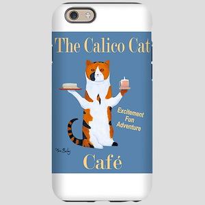 Calico Cat Café iPhone 6/6s Tough Case