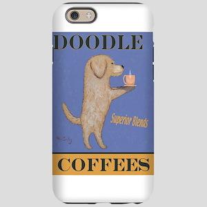 Doodle Coffee iPhone 6/6s Tough Case