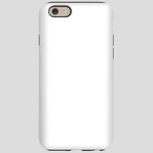 Border Collie Split Face iPhone 6 Tough Case