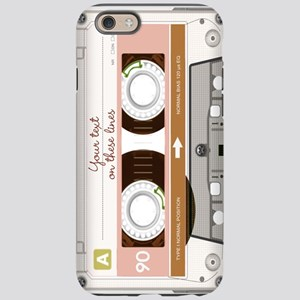 Cassette Tape - Tan iPhone 6 Tough Case