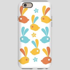 Easter Bunnies Modern Twist Pa iPhone 6 Tough Case