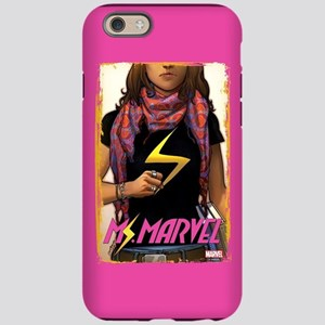 Ms. Marvel Cover Grunge iPhone 6 Tough Case
