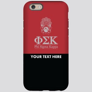 Phi Sigma Kappa Crest Perso iPhone 6/6s Tough Case