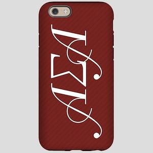 Alpha Sigma Alpha Letters iPhone 6/6s Tough Case