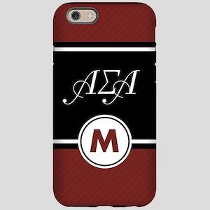 Alpha Sigma Alpha Letters M iPhone 6/6s Tough Case