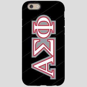 Alpha Sigma Phi Letters iPhone 6/6s Tough Case