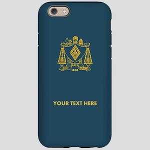 Zeta Beta Tau Fraternity Cr iPhone 6/6s Tough Case